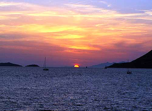 korcula - sunset11.08.04