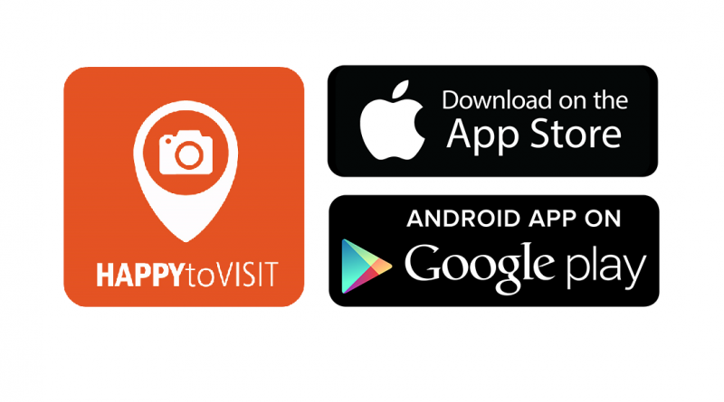HAPPYtoVISIT APPS are now officially live!